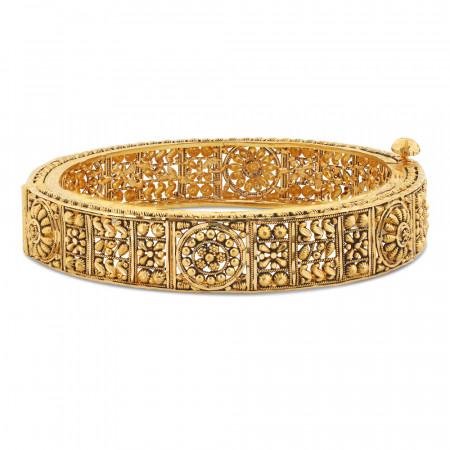 22ct Gold Jali Kada 34415