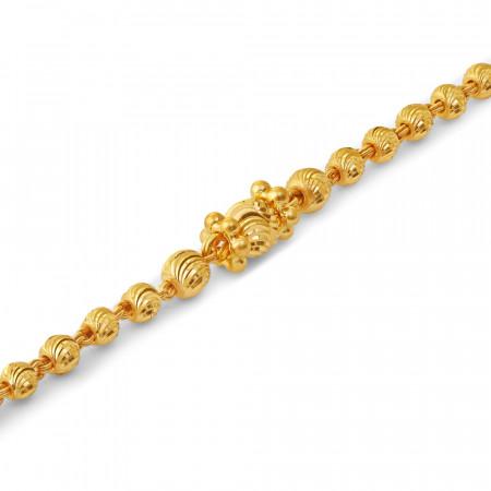 22ct Gold Baby Bracelet 34663-1