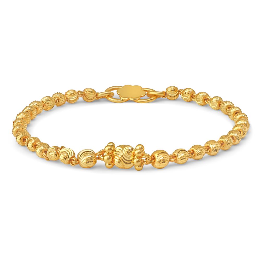 22ct Gold Baby Bracelet 34663-2