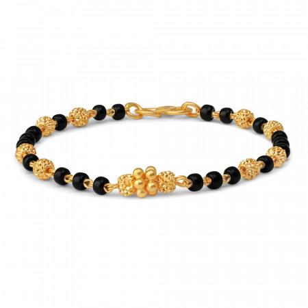 22ct Gold Baby Bracelet 34675-2