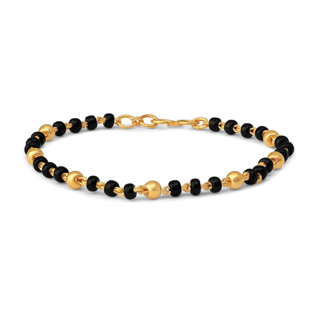 22ct Gold Baby Bracelet 34677-2