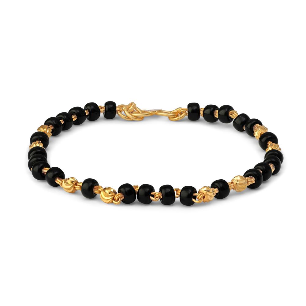22ct Gold Baby Bracelet 34678-2