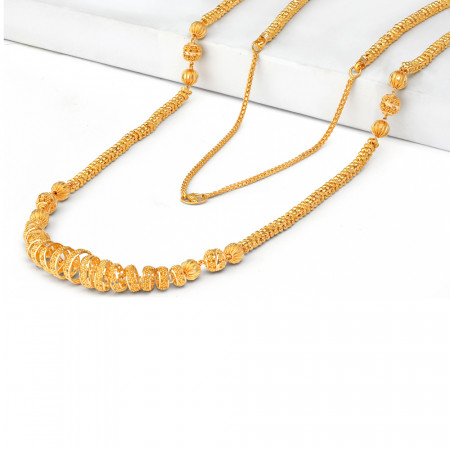 22ct Gold Mala Necklace 34714-2