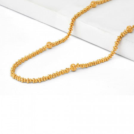 22ct Gold Mala Necklace 34715-1