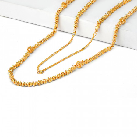 22ct Gold Mala Necklace 34715-2