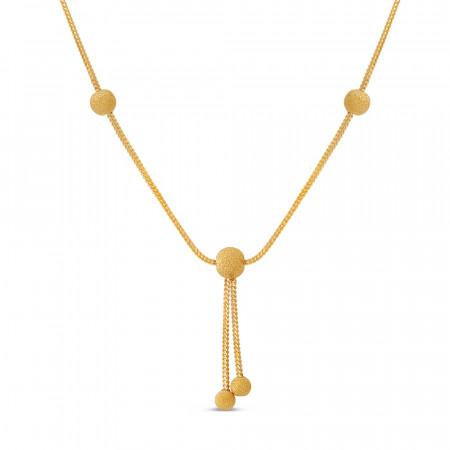 22ct Gold Choker Chain 40660-1