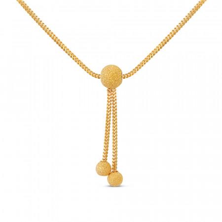 22ct Gold Choker Chain 40660-2