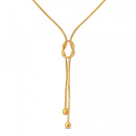 22ct Gold Choker Chain 40664-2