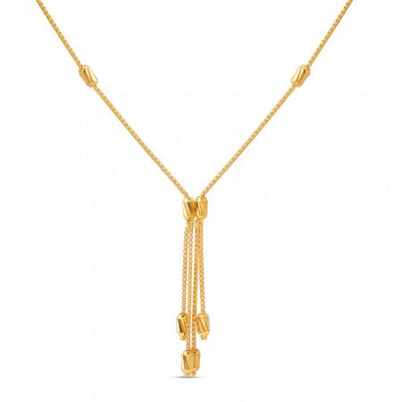 22ct Gold Choker Chain 40668-1