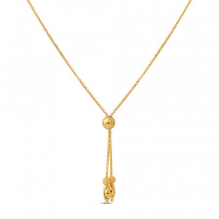 22ct Gold Choker Chain 40675-1