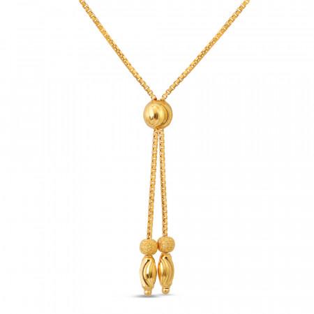 22ct Gold Choker Chain 40675-2