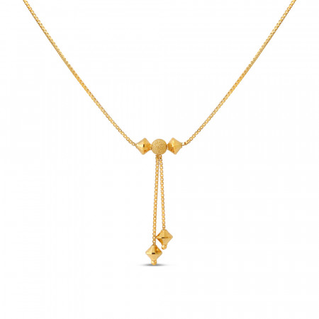 22ct Gold Choker Chain 40677-1