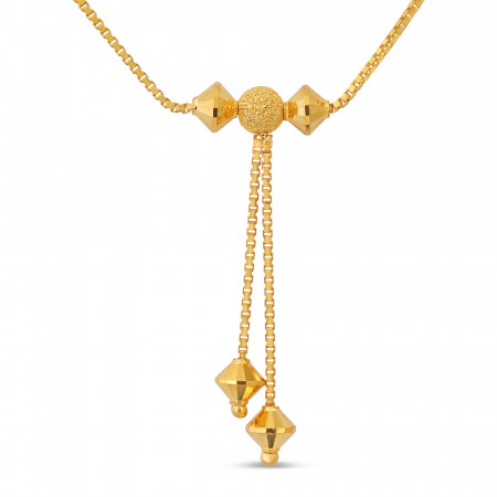 22ct Gold Choker Chain 40677-2
