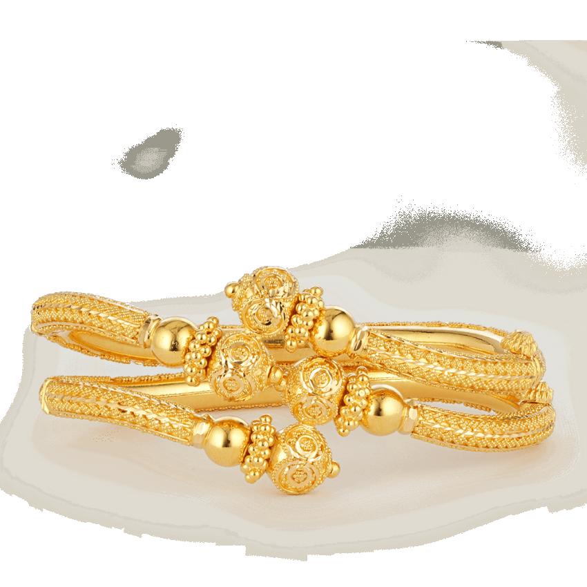 26861 22ct gold bangles