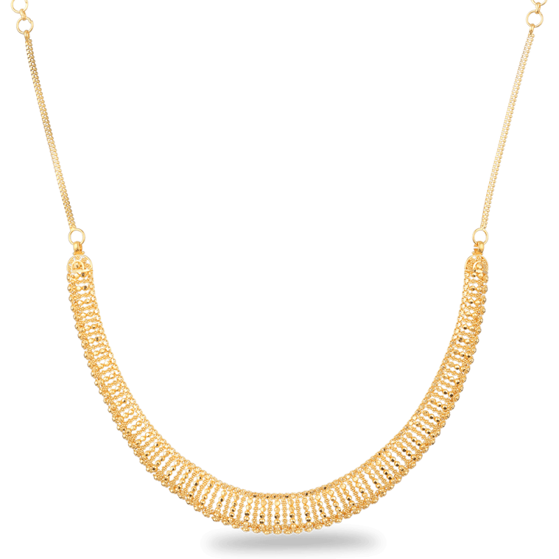 27162 22ct gold necklace