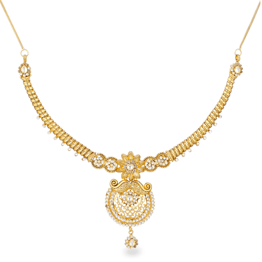 27568_22ct gold necklace